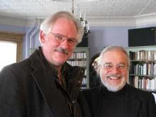 Robert Carl (right) with Kyle Gann
