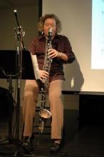 composer, clarinetist