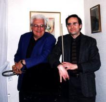 Robert Moog and Albert Glinsky