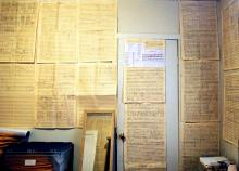 walls of score pages