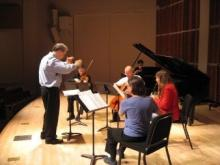 Washington Square Players in rehearsal