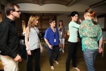 Opera Contestants in Workshops.