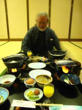 (breakfast in Japan)