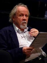Robert Ceely in rehearsal, 2010