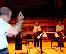 performed by Muneko Otani, violin; Shaun Ho, violin; Sarasa Otake, viola; Antoni Josef Inacay, cello