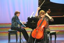 Susan Lamb Cook (cello) and Gayle Blankenburg