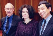 Marshall Taylor, Dr. Marion Kant, and Dr. Samuel Hsu