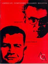 Vol. 10.3 (1962) George Perle, Gordon Binkerd
