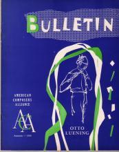 Vol. 3.3 (1953) Otto Luening